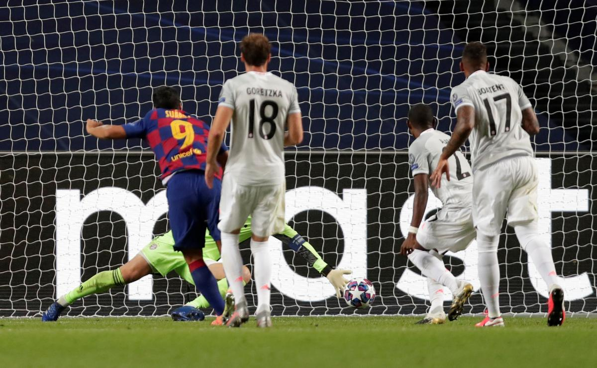 Барселона - Бавария / фото REUTERS