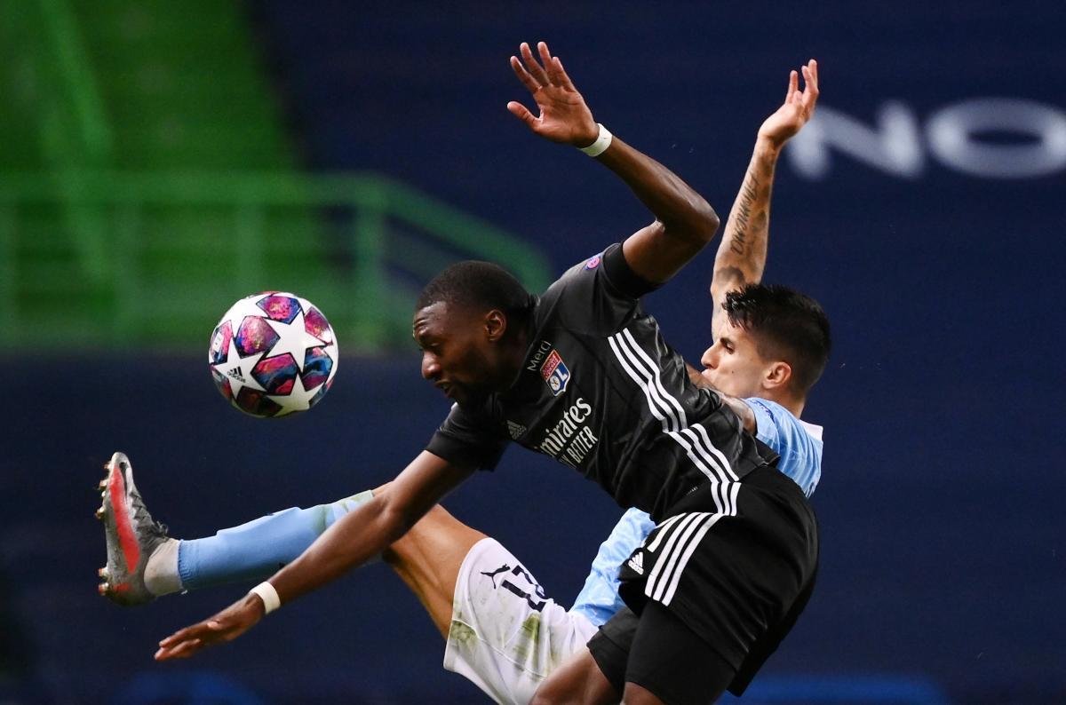 Манчестер Сити - Лион / фото REUTERS