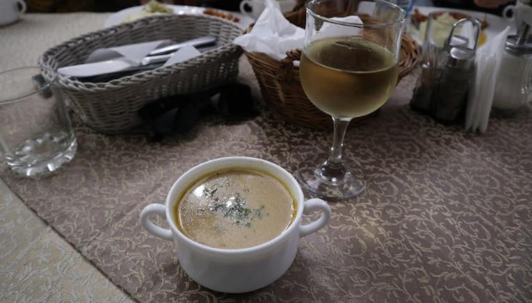 """В Карпатах обязательно надо попробовать грибную похлебку / фото блог """"Сам себе Колумб"""""""