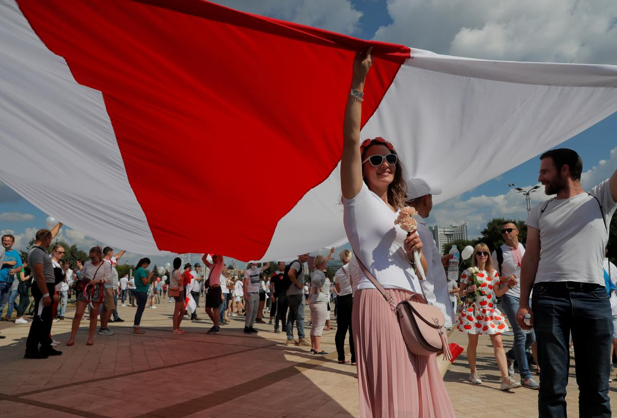 Protesters in Belarus are getting ready for a nationwide strike / REUTERS