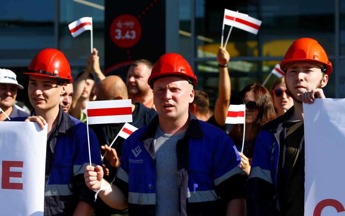 У Білорусі працівники промислових гігантів виходять на страйки / фото REUTERS
