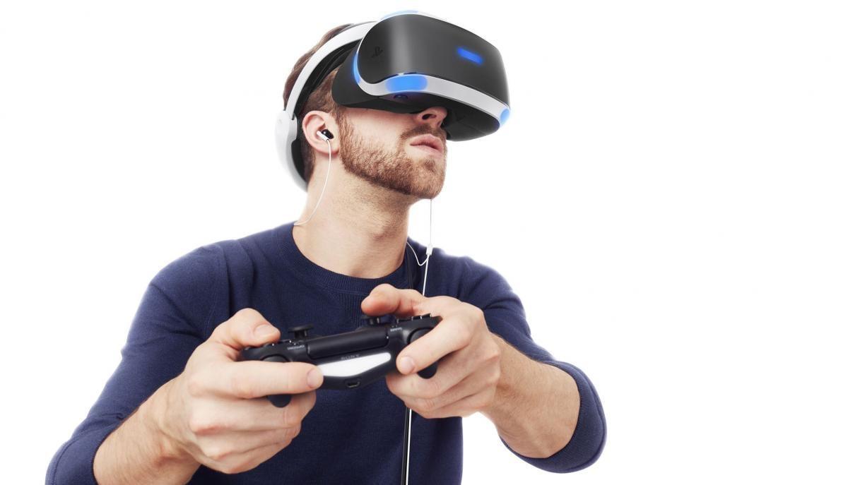 PS VR першого покоління / фото gamespot.com