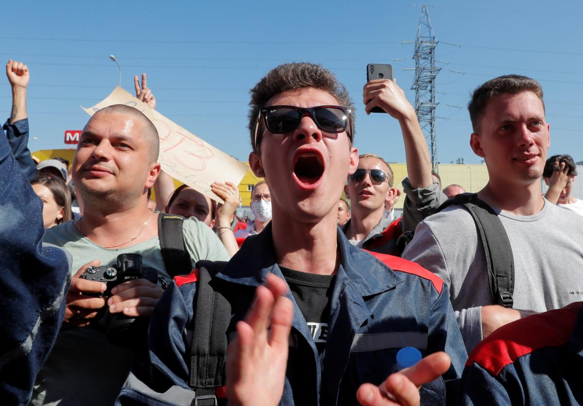 Grodno authorizes protests / REUTERS