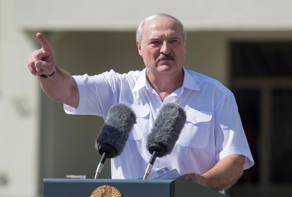 Lukashenko has briefed on Merkel's call / REUTERS
