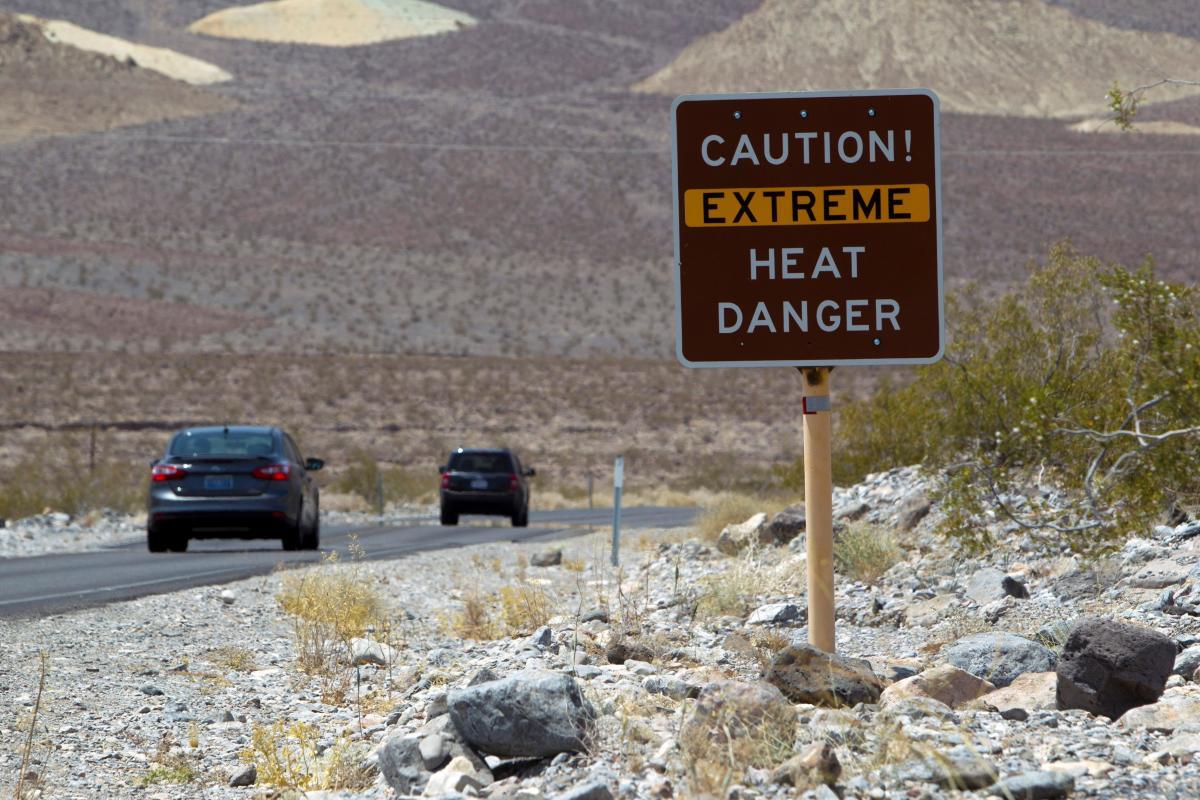 В Долине Смерти зафиксировали самую высокую температуру в истории наблюдений / REUTERS