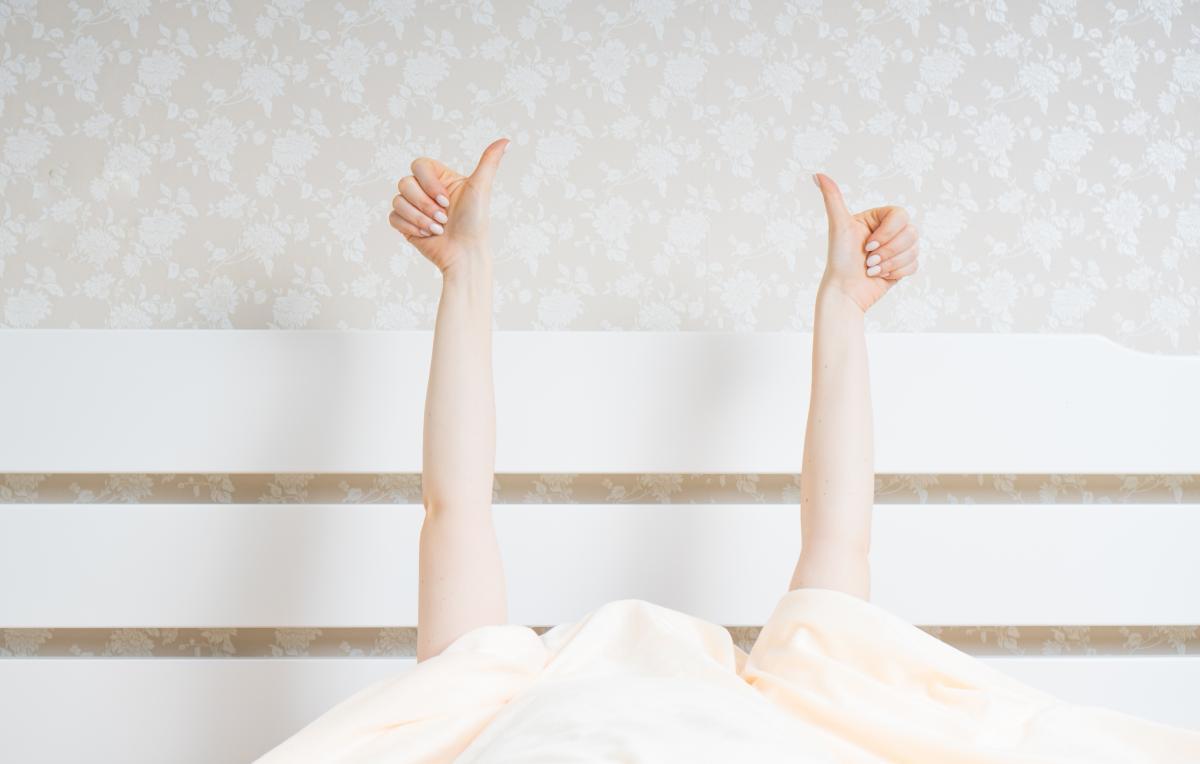 Специалисты советуют заправлять кровать в самую последнюю очередь \ фото ua.depositphotos.com