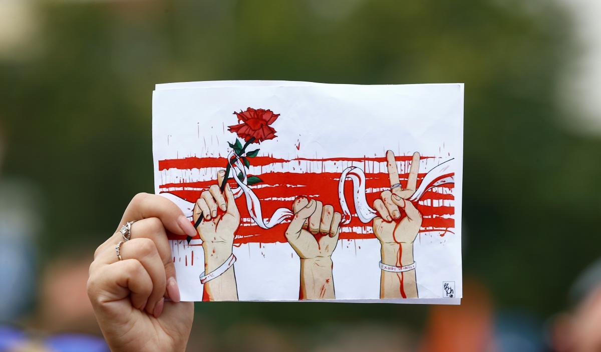 Протесты в Беларуси продолжаются / фото REUTERS