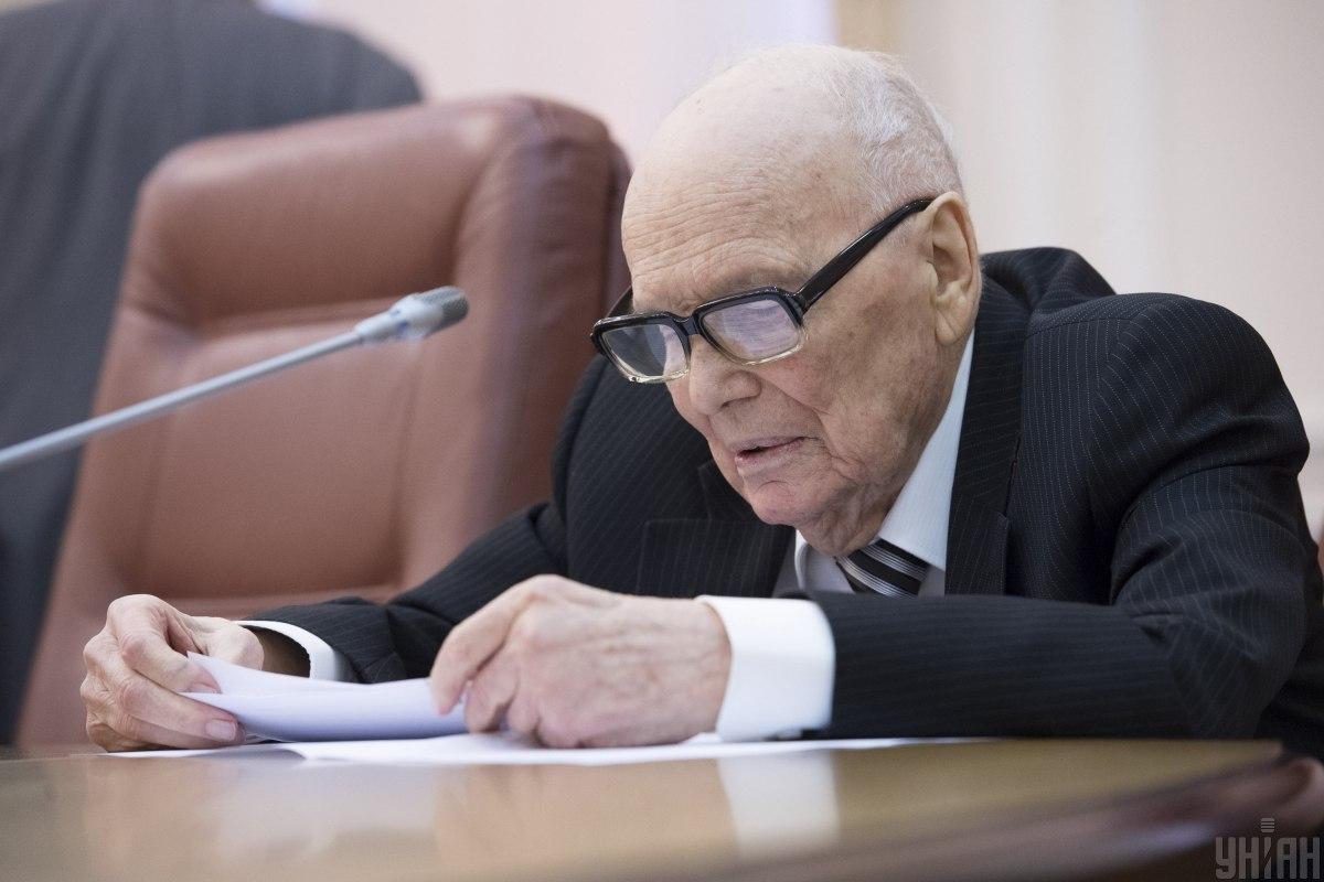 Борис Патон помер / фото УНІАН