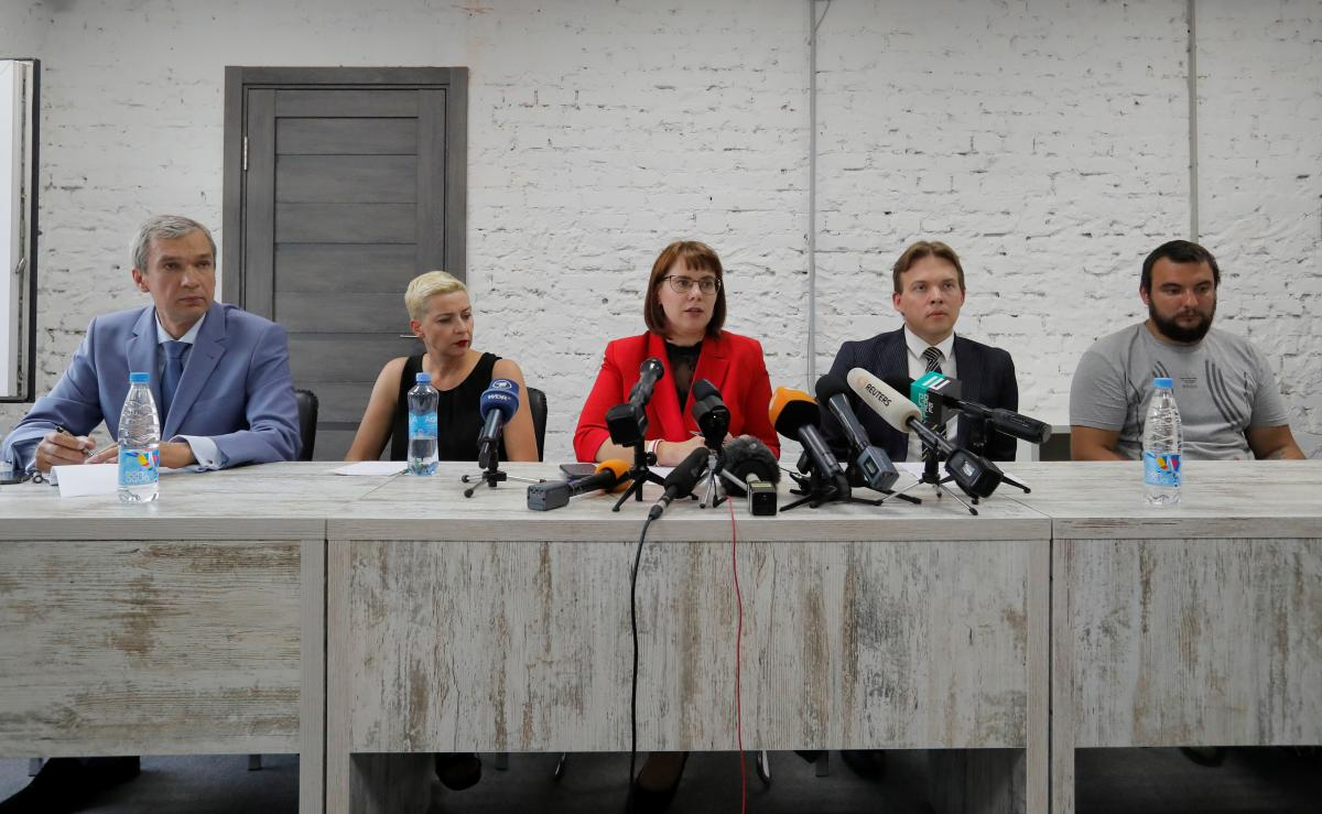 The first meeting of the council's presidium took place on August 19 / REUTERS