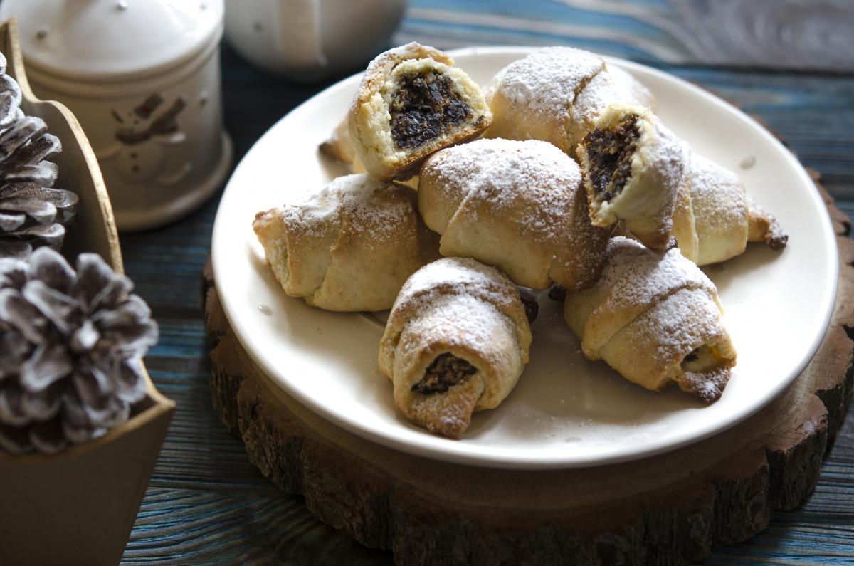 Рецепт вкусных рогаликов с орехами / фото ua.depositphotos.com