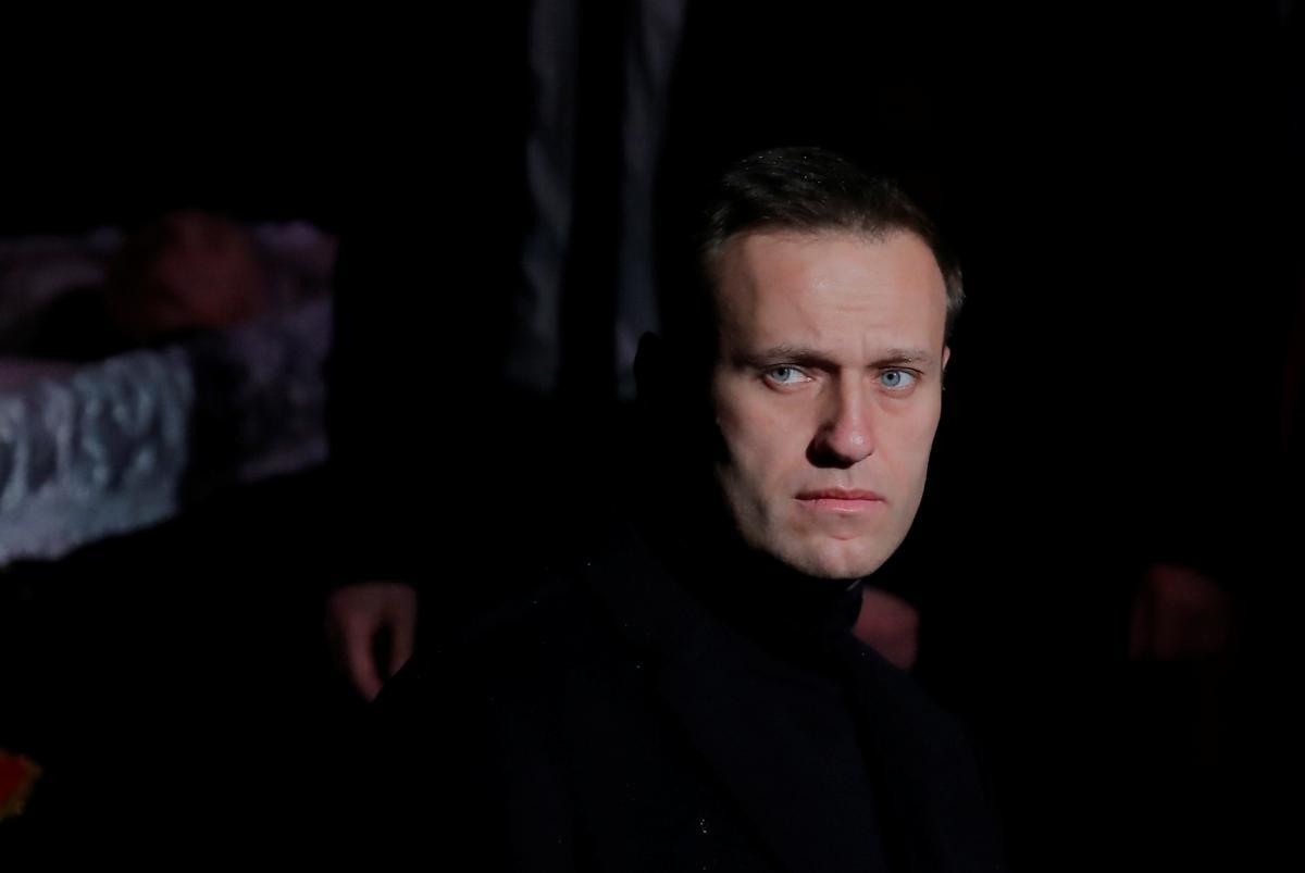 Алексей Навальный в реанимации / REUTERS