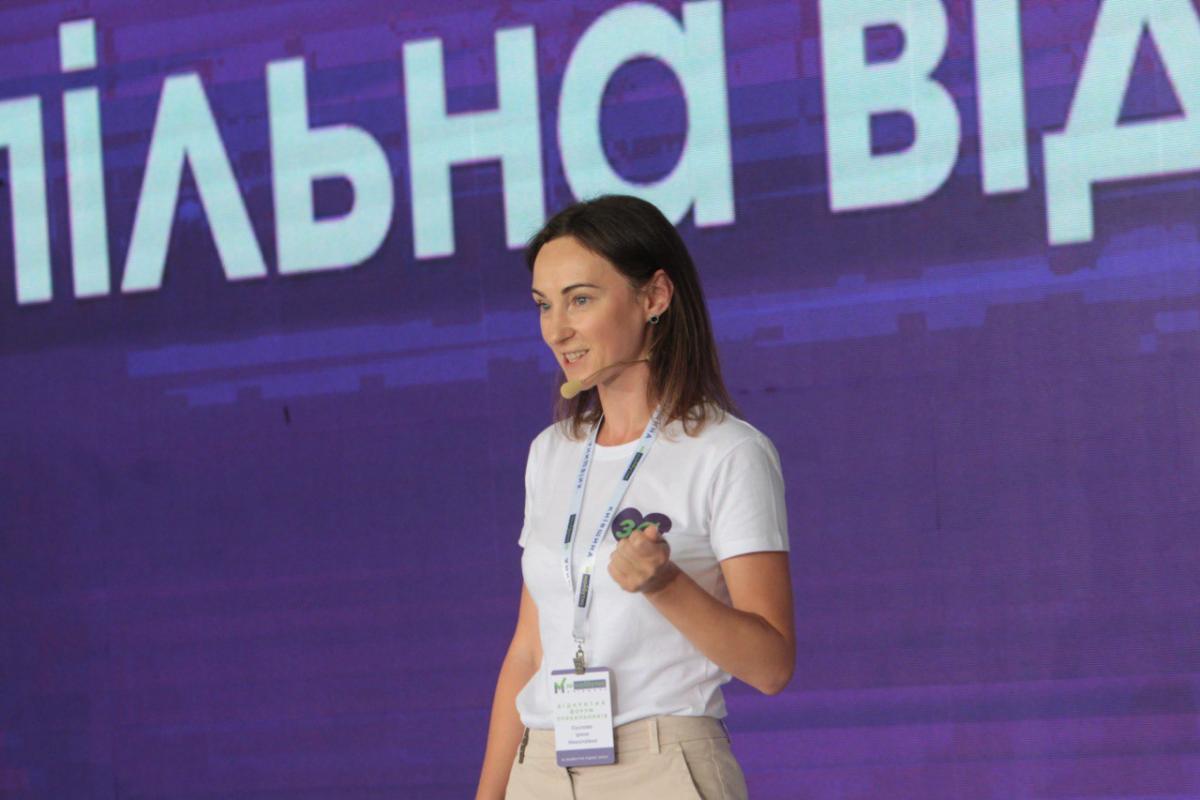 Голова Жіночого руху «За майбутнє» Ірина Суслова