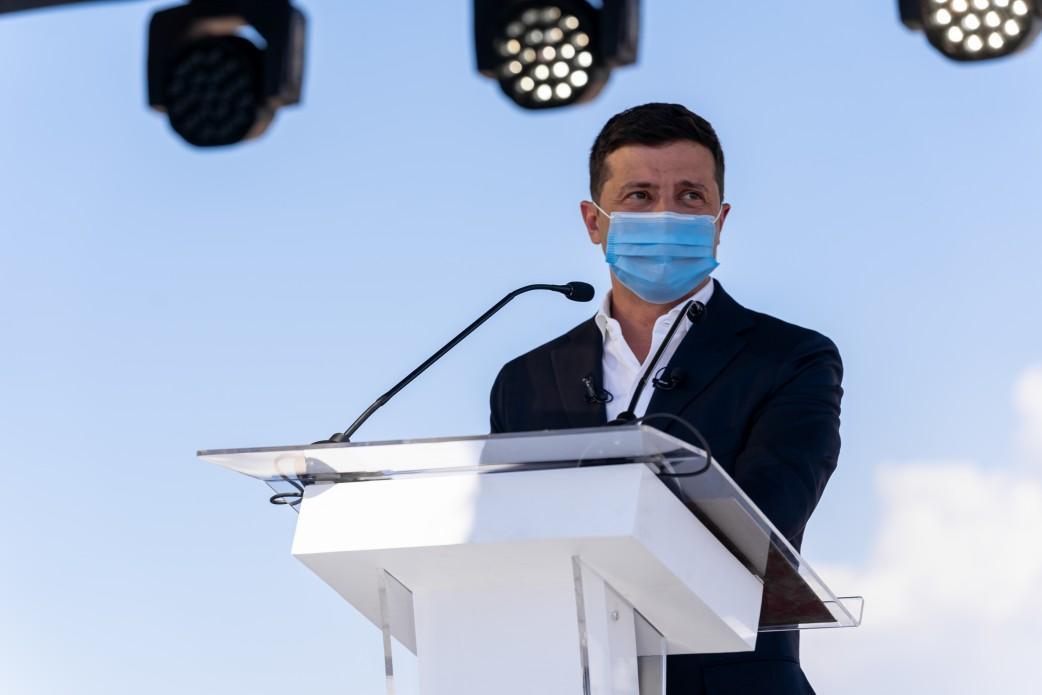 Зеленский назвал причину роста заболеваемости коронавирусомв Украине / фото Офис президента