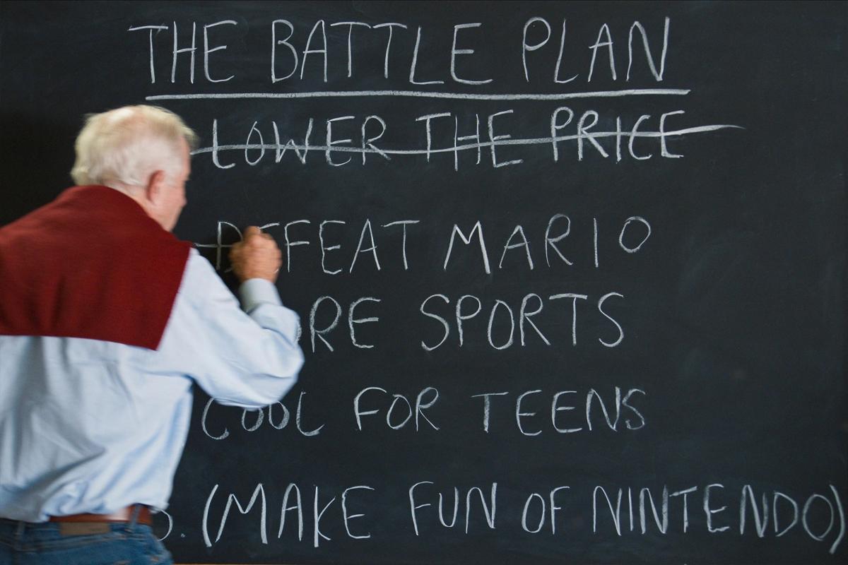 Глава компании SEGA, Том Калински, разрабатывает план победы в войне с Nintendo / фото nintendoenthusiast.com
