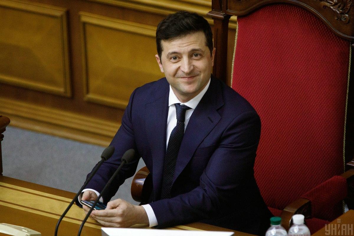Зеленский продолжает возглавлять президентский рейтинг / фото УНИАН