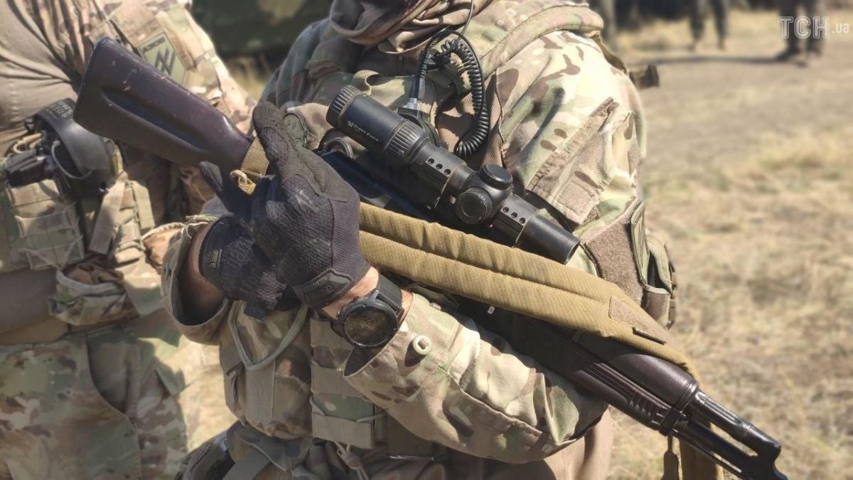 Позиции ВСУ снова попали под обстрелы / фото: ТСН