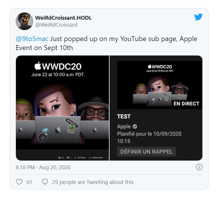 Cкриншот c Twitter