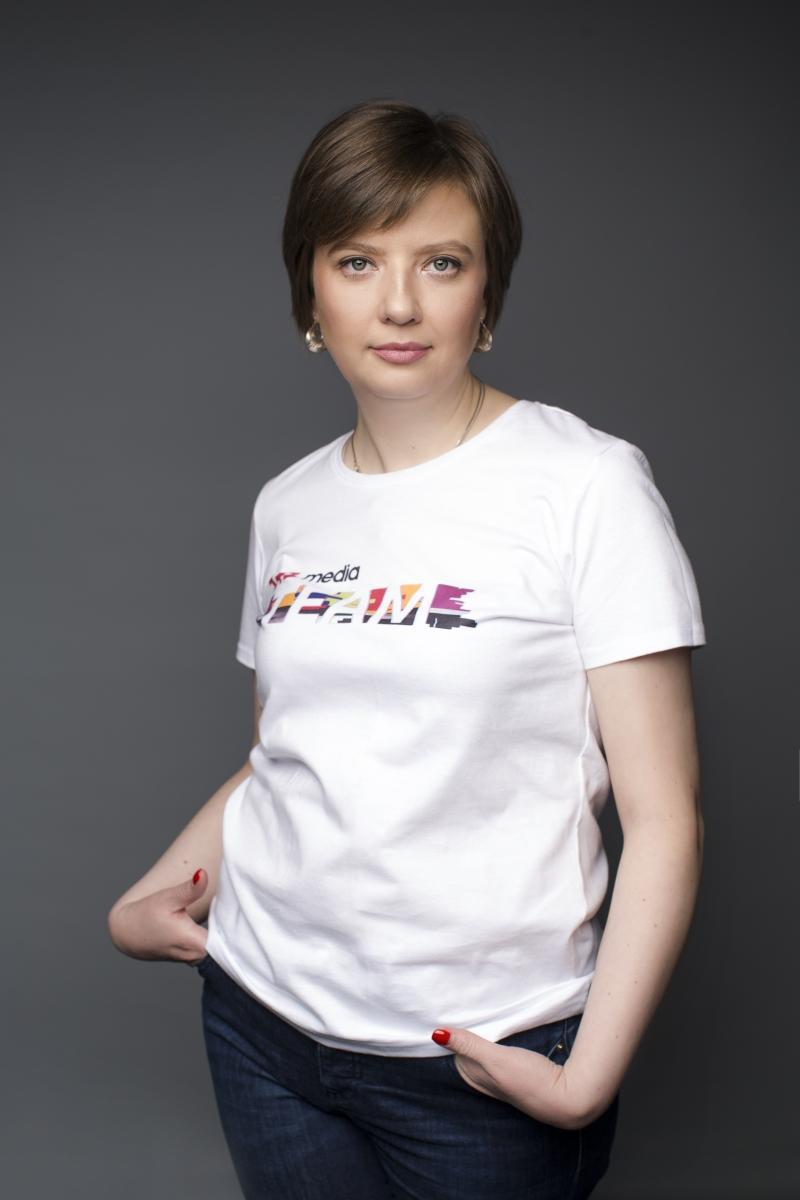 Алена Еремеева поделилась, что этой осенью канал порадует зрителей новыми яркими премьерами / фото пресс-служба 1+1