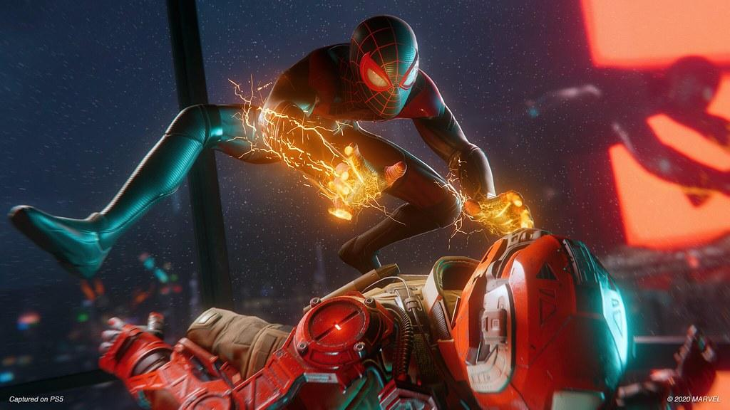 Spider-Man: Miles Morales выходит 12 ноября /фото blog.playstation.com