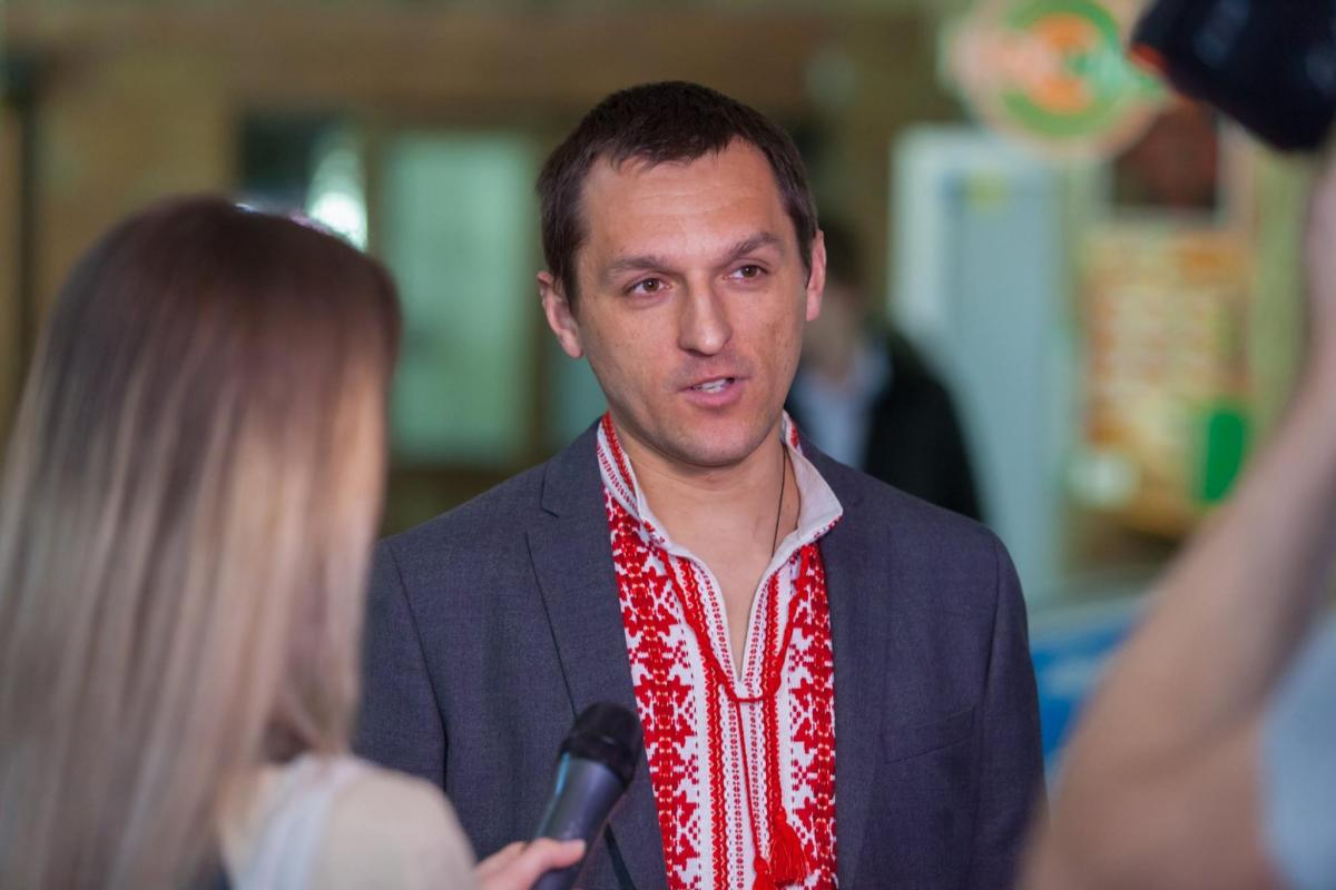 Максим Грищук возглавил САП / фото facebook.com/makcum.gryshchuk