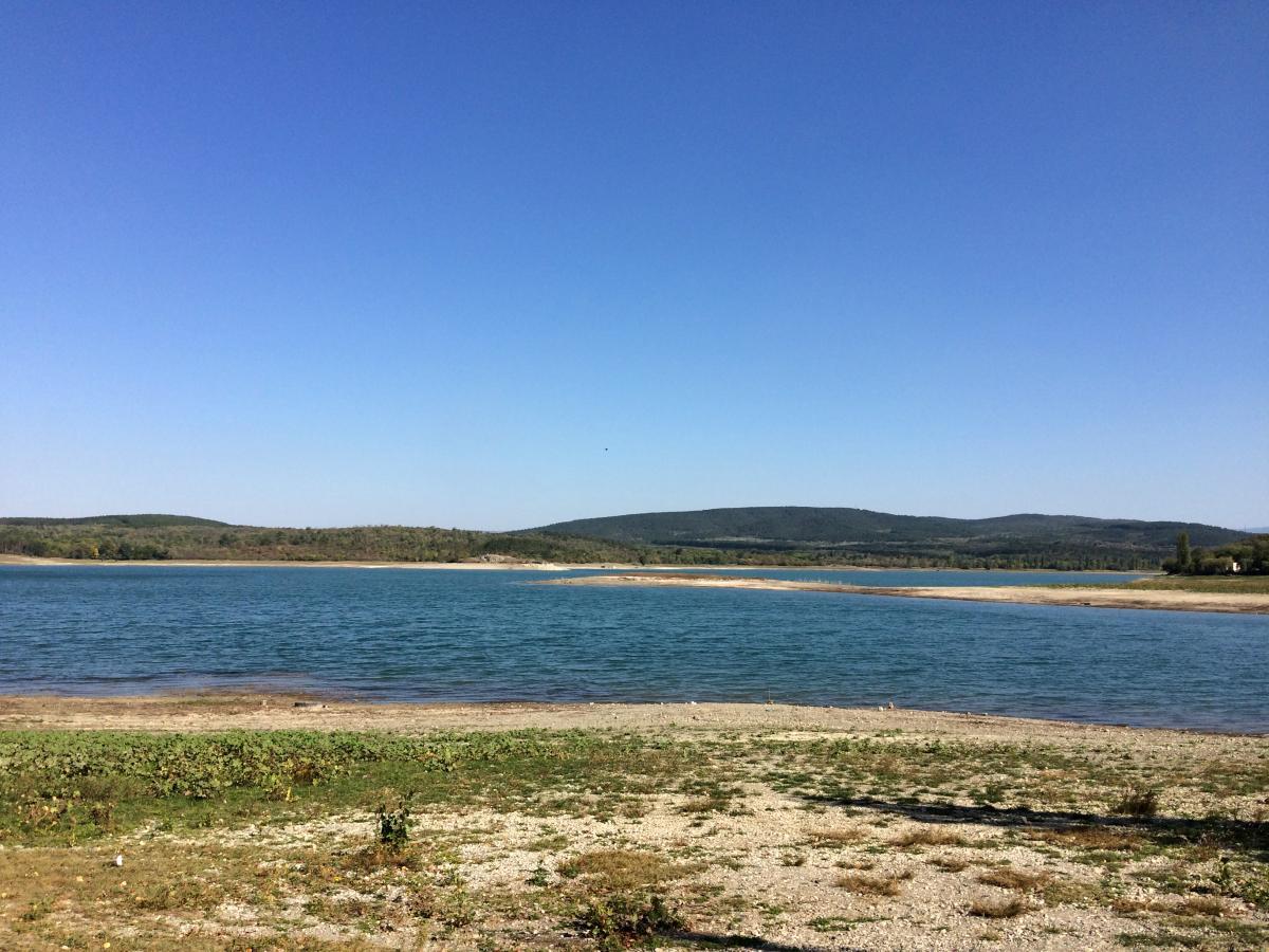 В Симферопольском водохранилище осталось всего 7 млн кубометров воды / фото ua.depositphotos.com