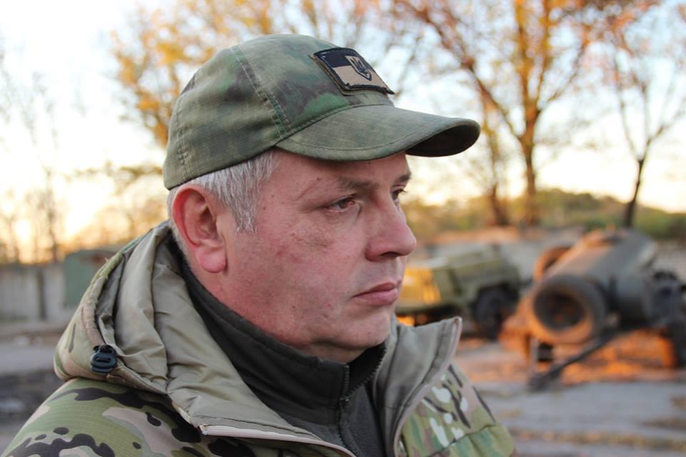 Власенко в Іловайську командував добробатами / Facebook Филин Донбасс-Украина