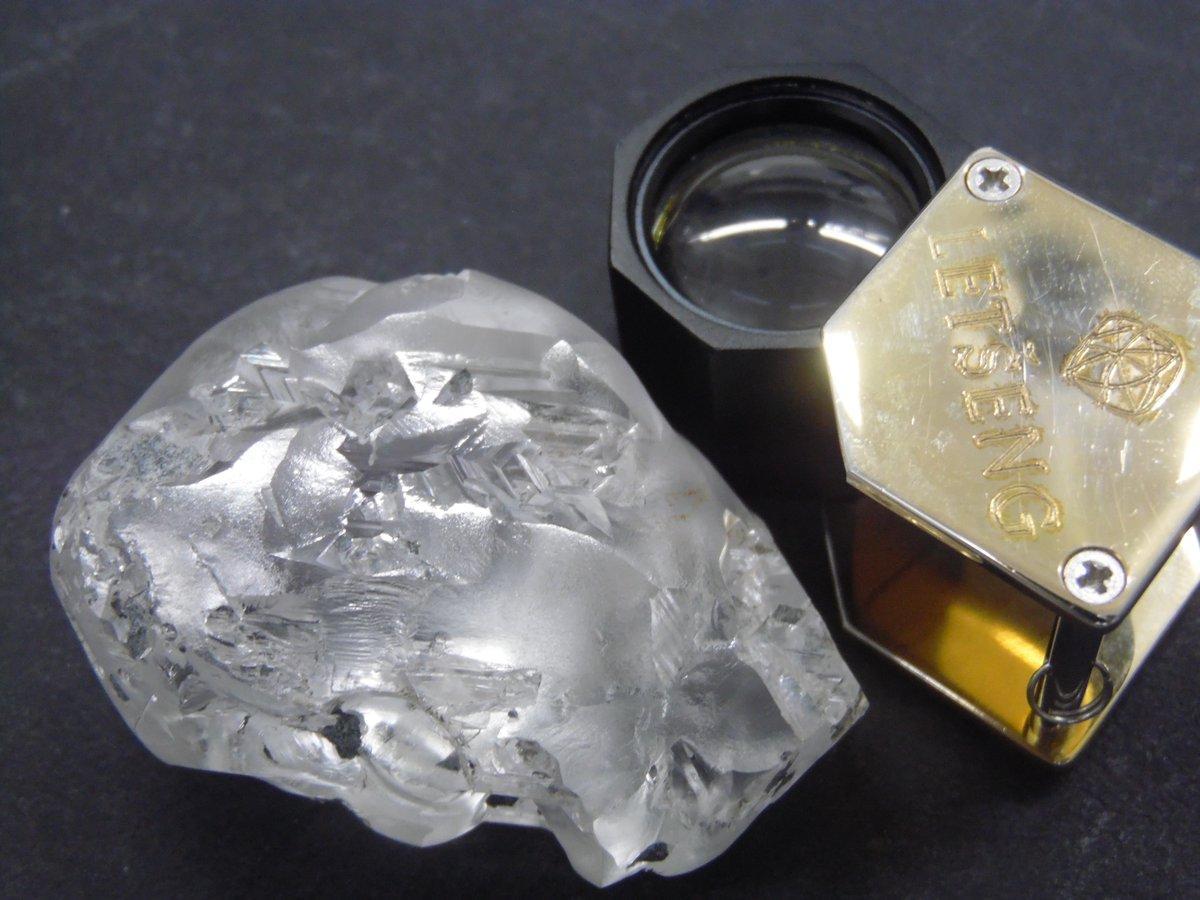В Южной Африке нашли один из крупнейших в мире алмазов / Фото twitter.com/GemDiamondsLtd