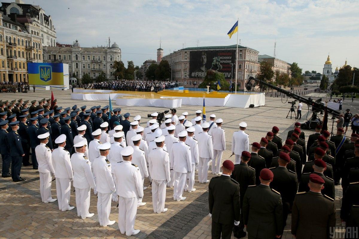 Парад в День независимости Украины посетят десятки иностранных гостей / фото УНИАН