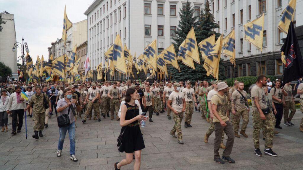 Шествие к Офису президента / nationalcorps.org