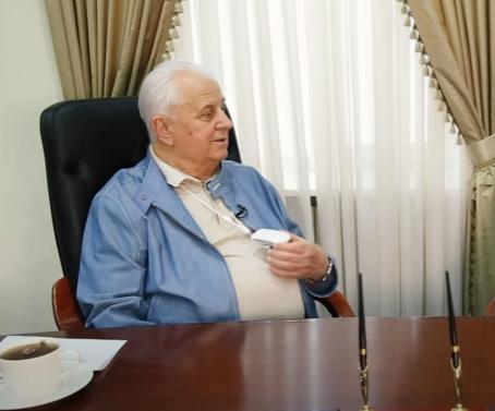 Кравчук защищается от коронавируса / скриншот видео