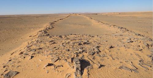 В Саудовской Аравии нашли остатки древнейших каменных строений / фото sagepub.com