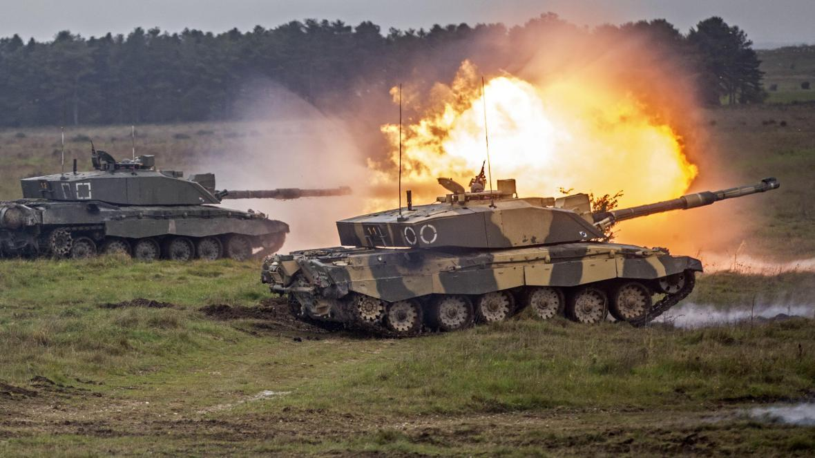 Британия может отказаться от танков / фото The Times