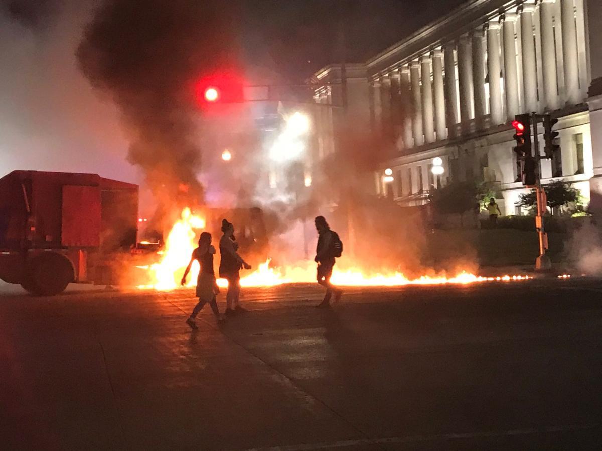 Протести в Вісконсині, фото № 5