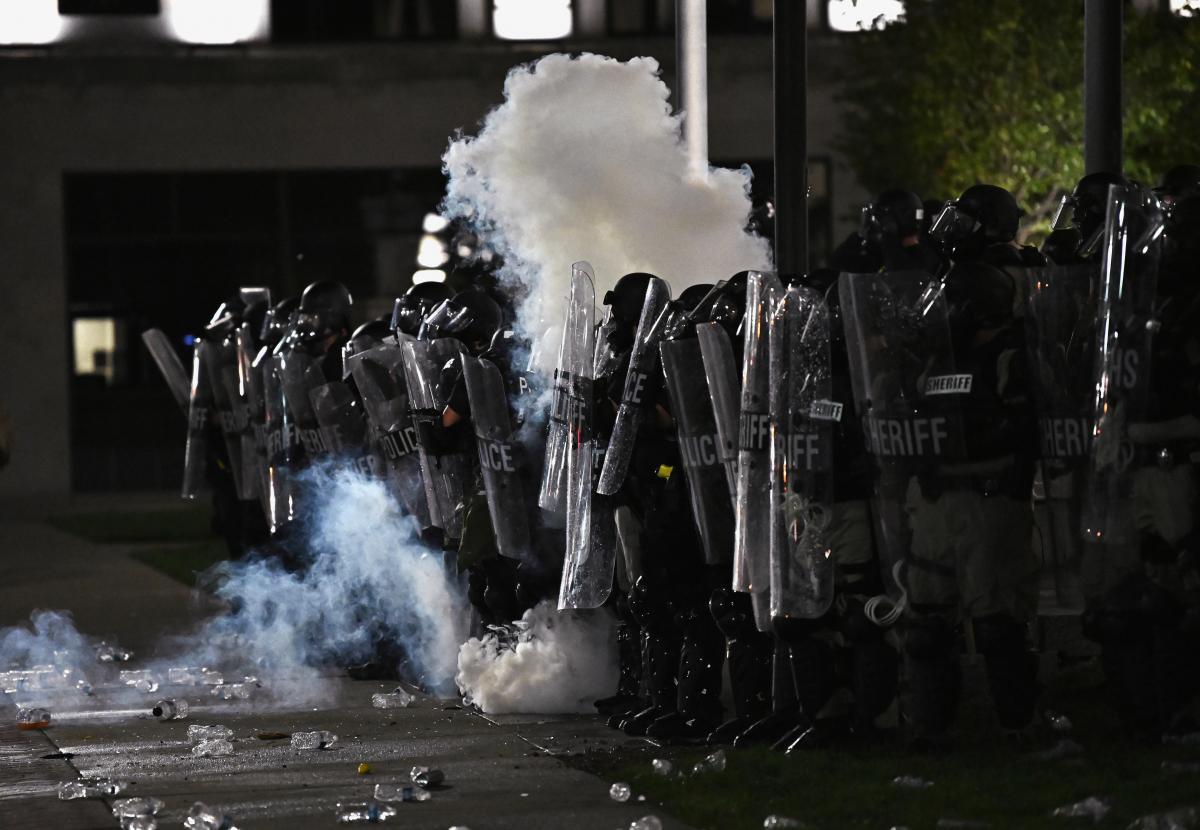 Протести в Вісконсині, фото № 4