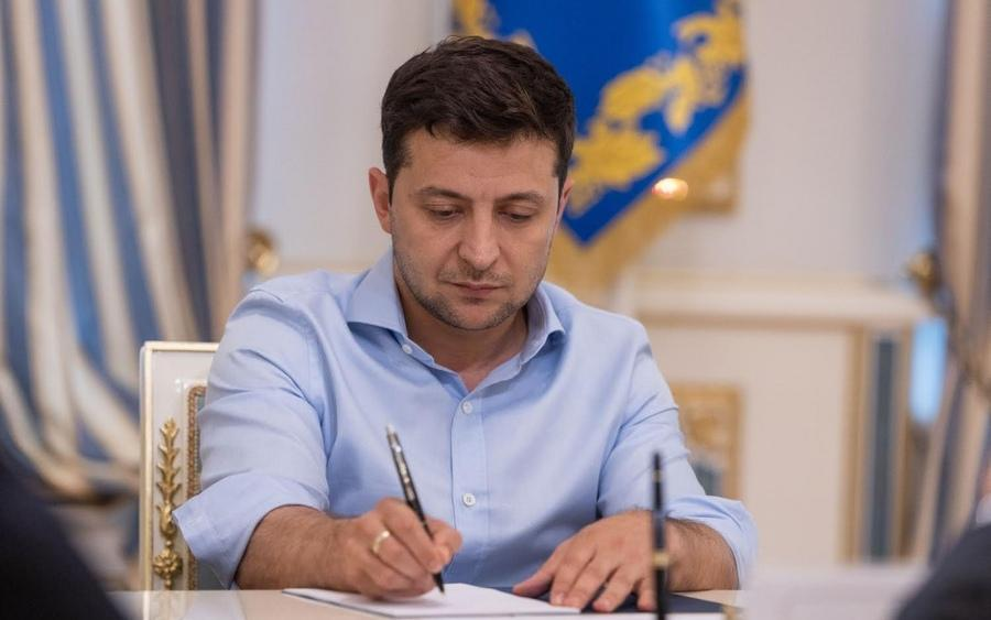 Zelensky signs a NSDC decision into effect / Photo from president.gov.ua