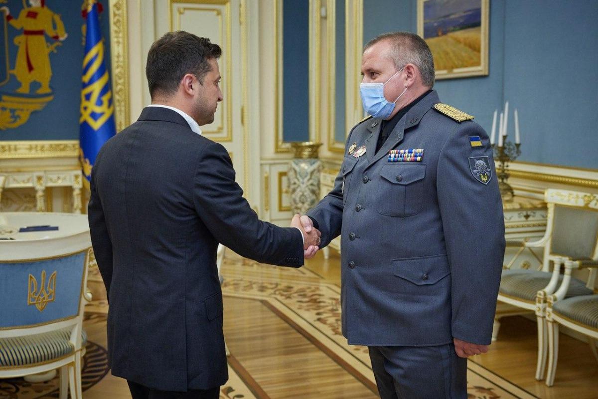Зеленский сменил командующего ССО / Фото офис президента