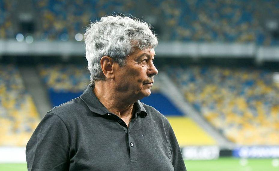 Луческу отметил кадровые проблемы перед матчем с АЗ / фото Динамо Киев