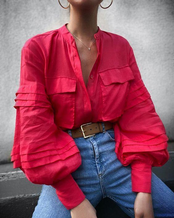 Пышные рукава / фото pinterest.com