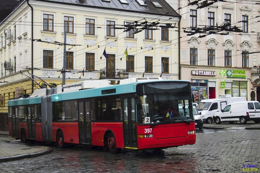 Поліція намагалася оштрафувати водія тролейбуса / facebook.com/cvtrolleybus