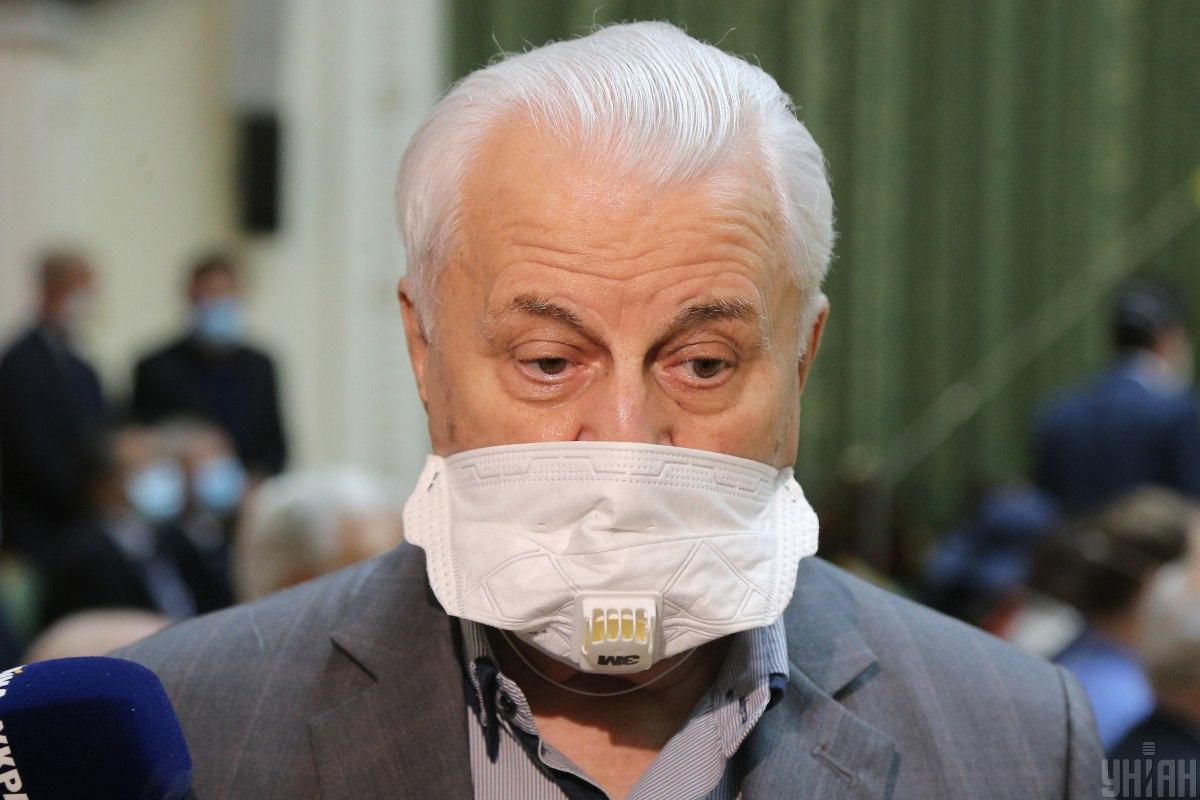 Кравчук рассчитывает, что парламентская рабочая группа наработает определенный документ к следующему заседанию ТКГ / фото УНИАН