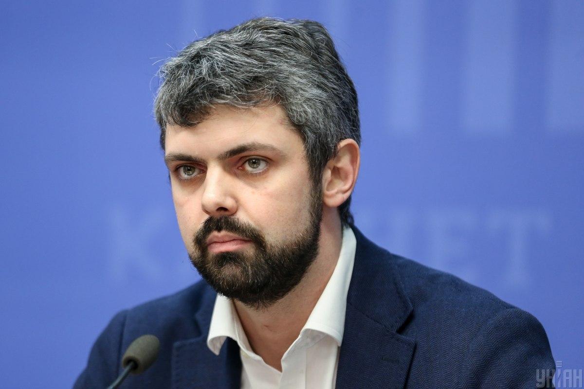 Голова Українського інституту національної пам'яті Антон Дробович / фото УНІАН