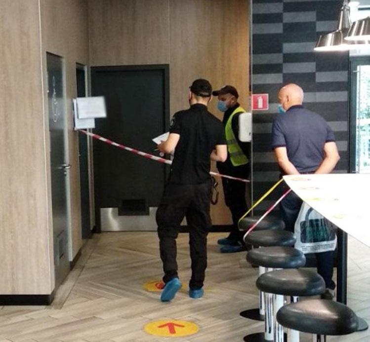 Насильник напал на девушку в уборной ресторана / фото полиции Черниговской области