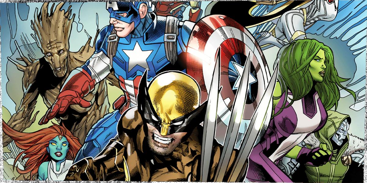 У Fortnite можна знайти комікс про супергероїв Marvel / epicgames.com