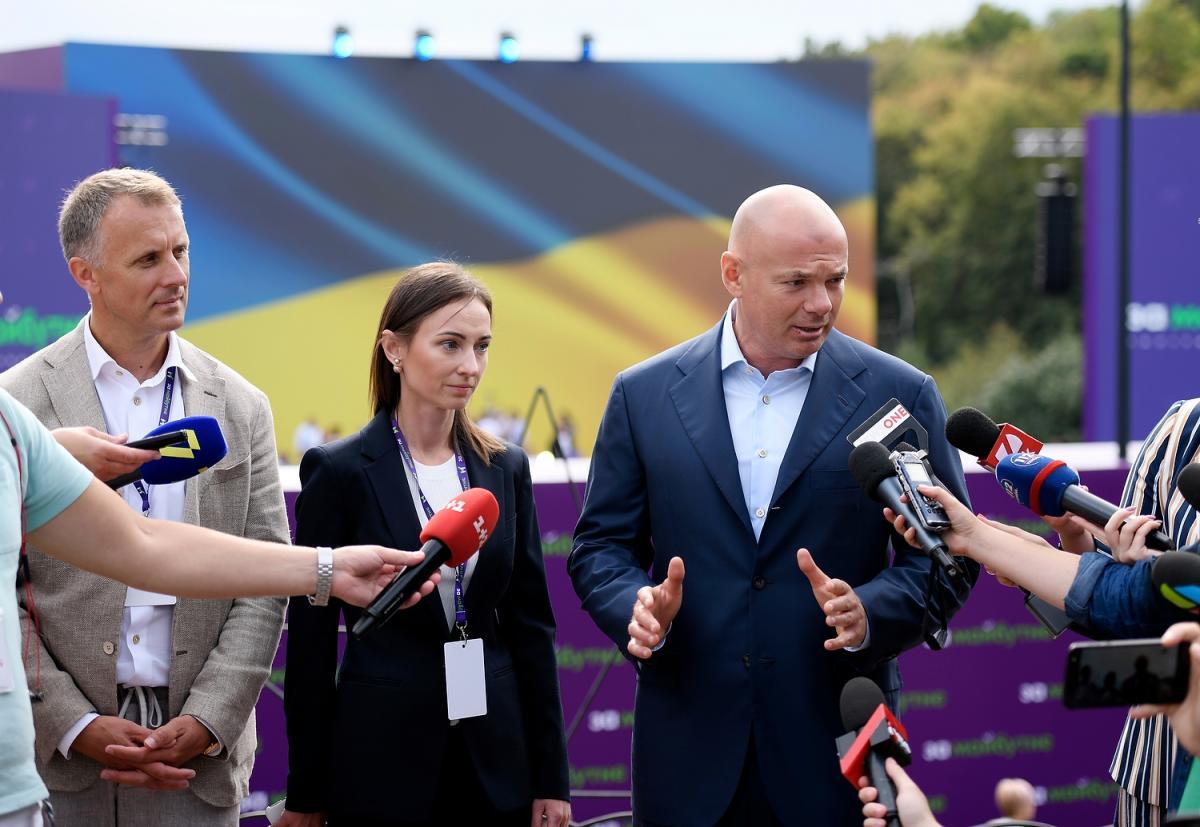 """Палиця заявив, що на референдумі українці повинні прийняти рішення, що робити з Донбасом/ фото прес-служба """"За майбутнє"""""""