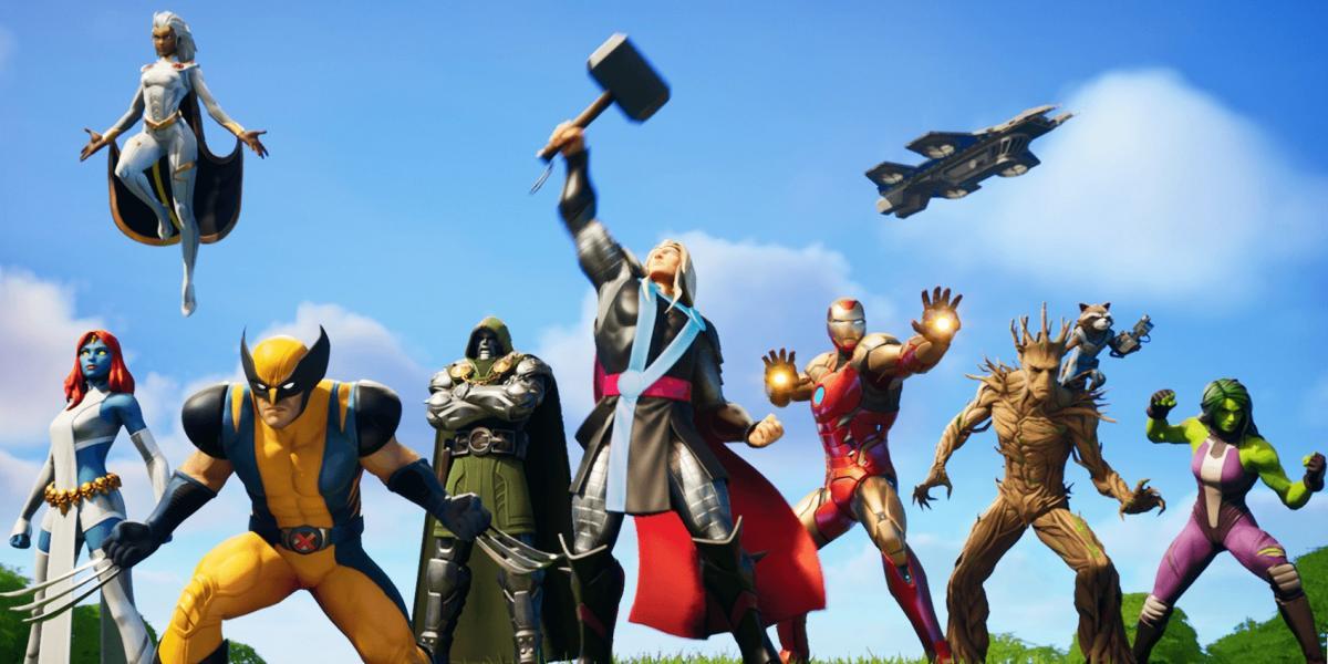 Супергерои Marvel в Fortnite / epicgames.com