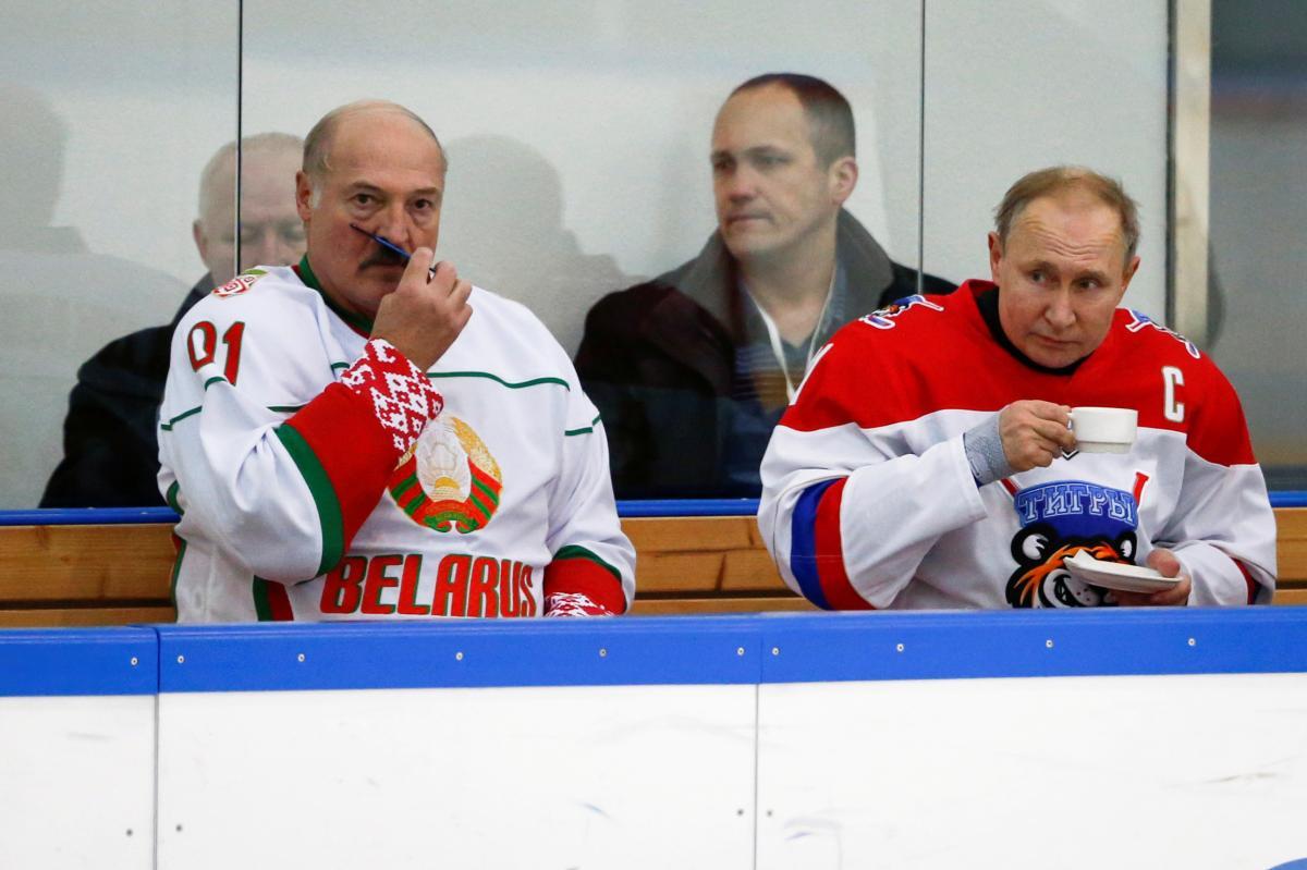Лукашенко и Путин - давние партнеры / Фото: REUTERS