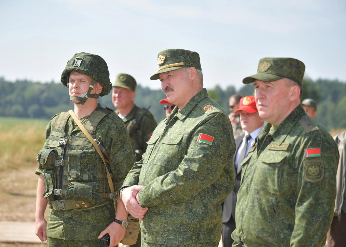Lukashenko undertook to threaten Kyiv / Illustration, Photo: REUTERS