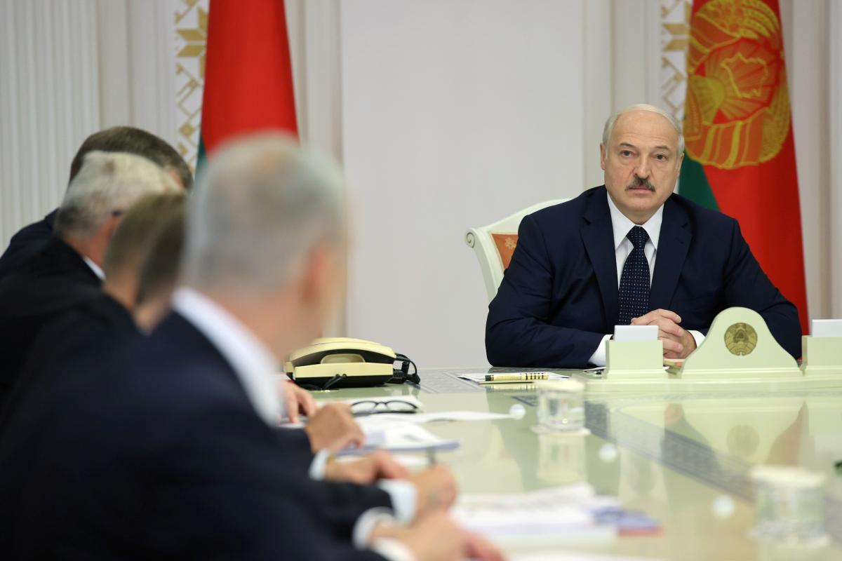 Олександр Лукашенко сьогодні зустрівся з російським прем'єром /REUTERS