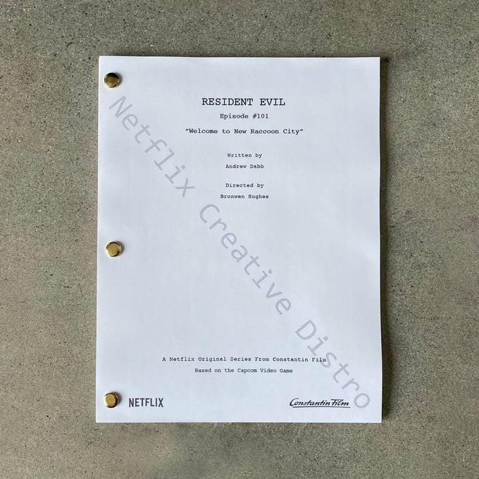 Сценарій серіалу Resident Evil від Netflix / twitter.com/NXOnNetflix