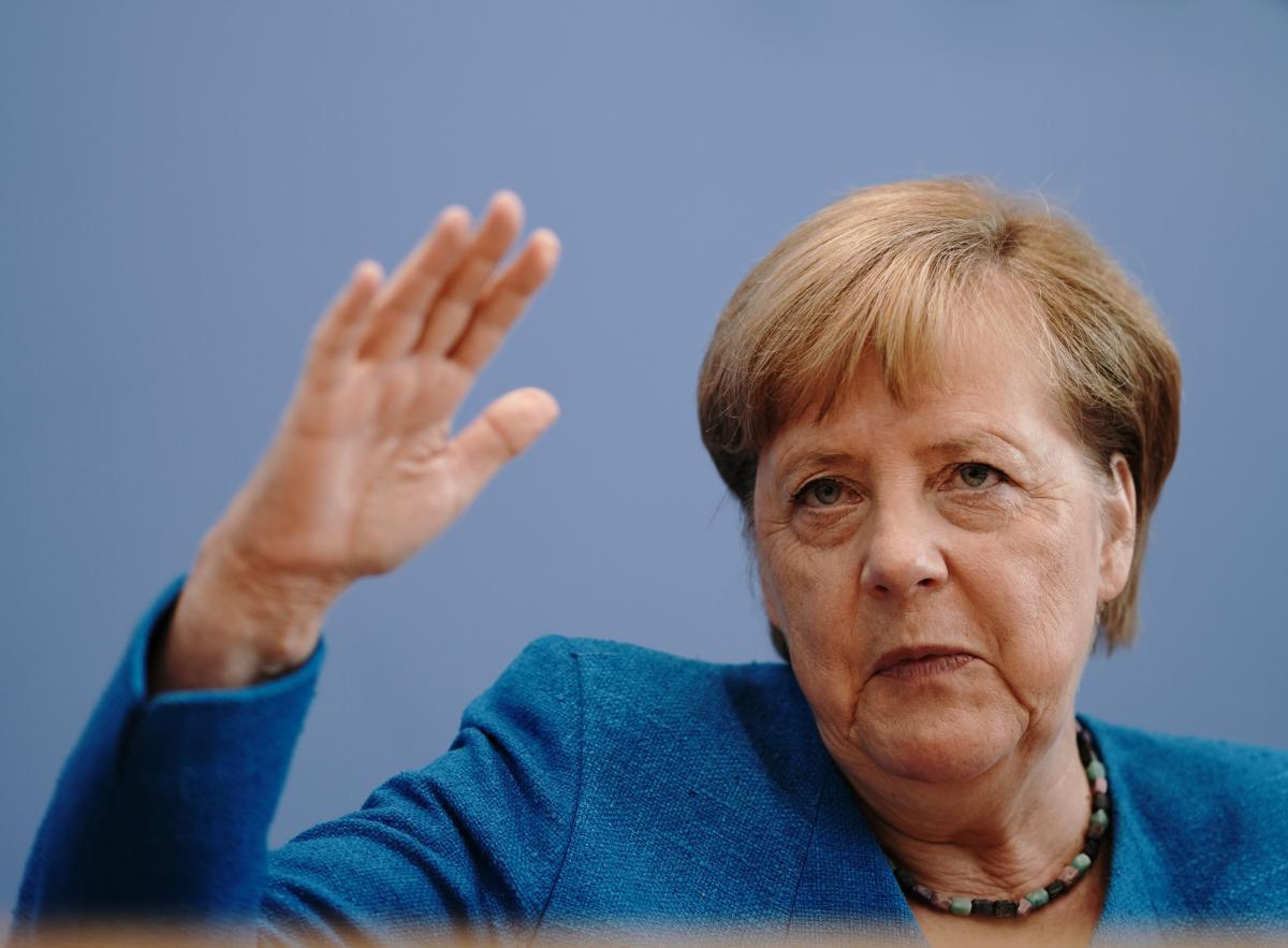 """Ангела Меркель убеждена, что """"Северный поток-2"""" надо достроить / REUTERS"""